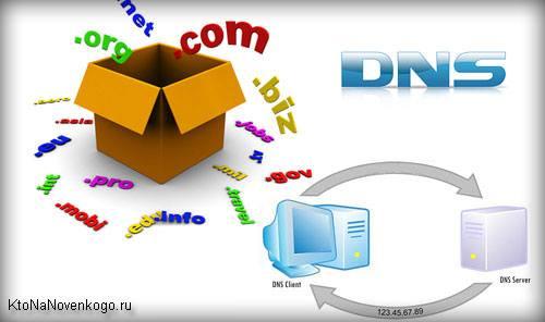 Dns домен